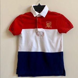 Polo Ralph Lauren Red White Blue Polo Shirt